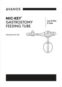 MIC-KEY* GASTROSTOMY FEEDING TUBE